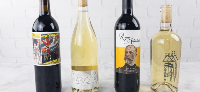 Winc March 2017 Subscription Box Review & $20 Off Coupon