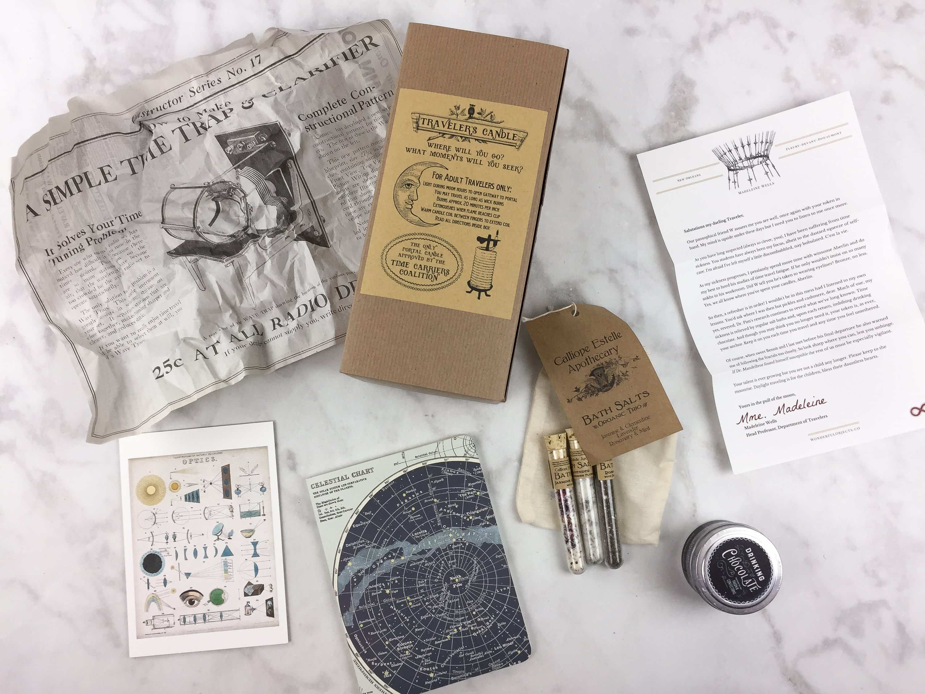 Wonderful Objects by Wonder and Company Winter 2016 Subscription Box Review + Coupon