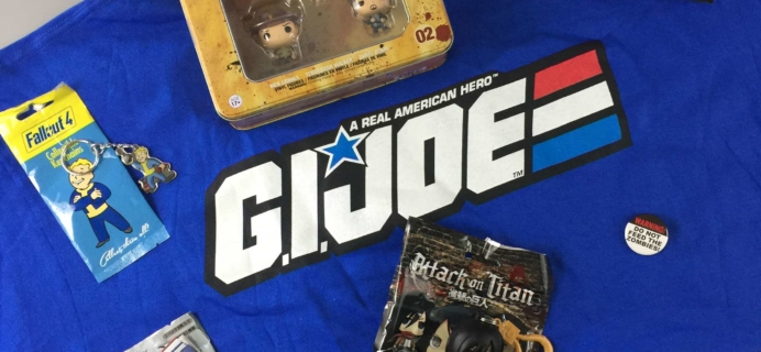 Powered Geek Box March 2017 Subscription Box Review + Coupon