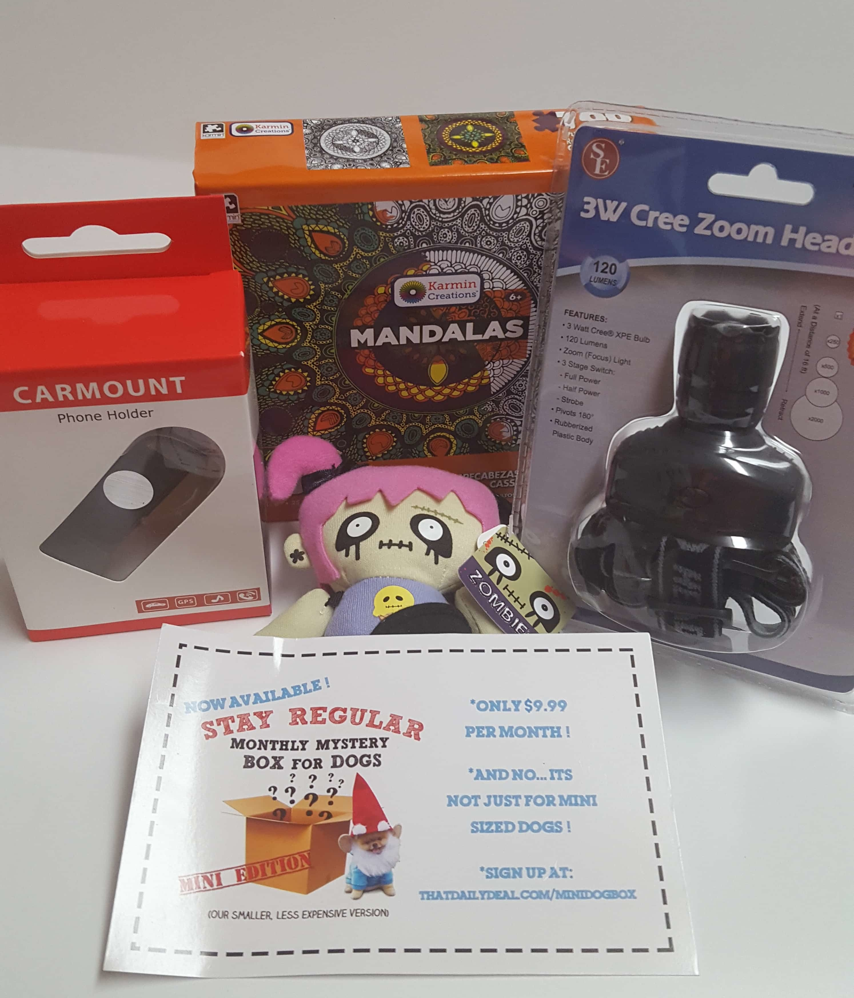 April 2017 Mini Monthly Mystery Box of Awesome Subscription Box Review