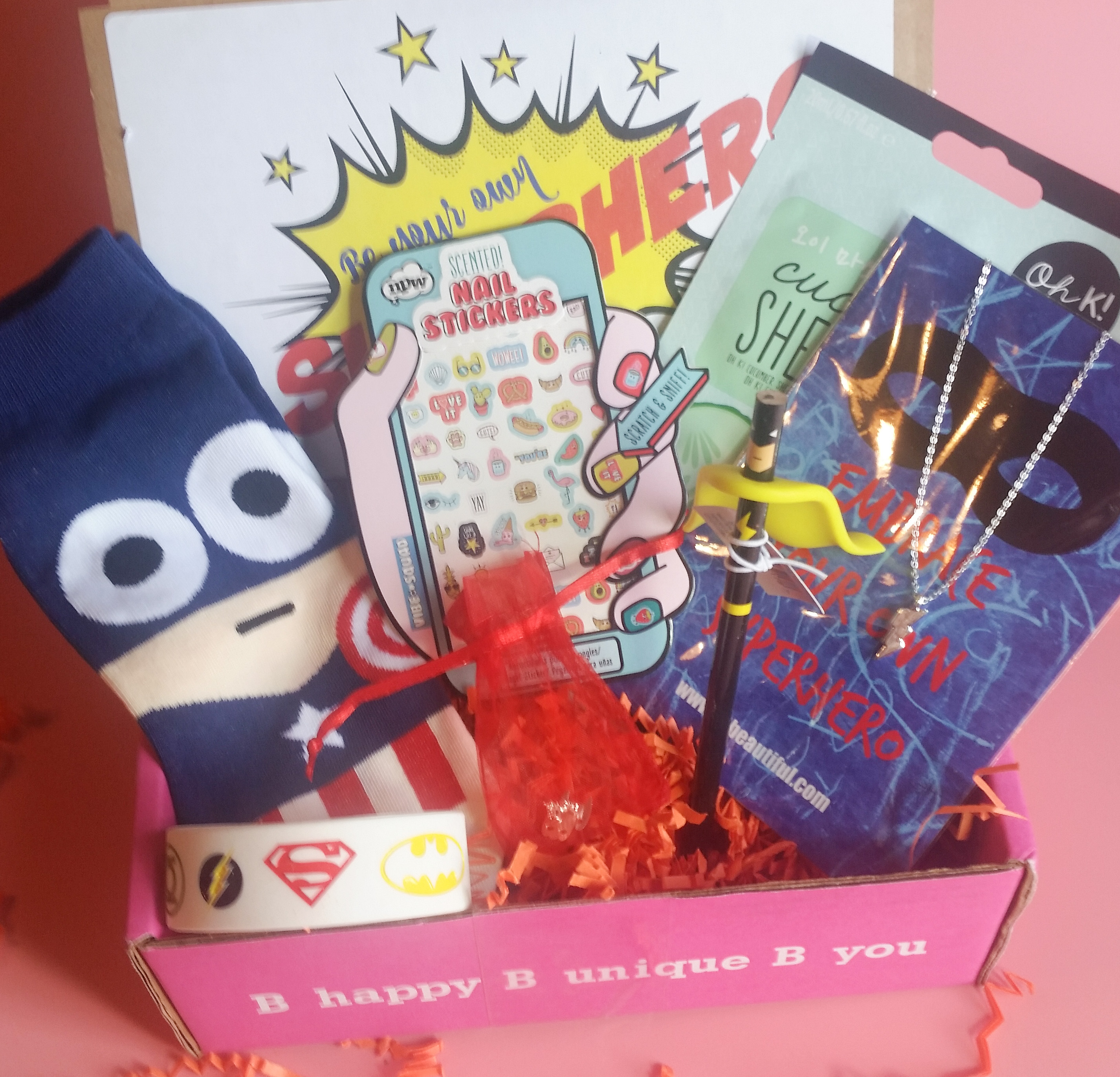 iBbeautiful April 2017 Teen Subscription Box Review