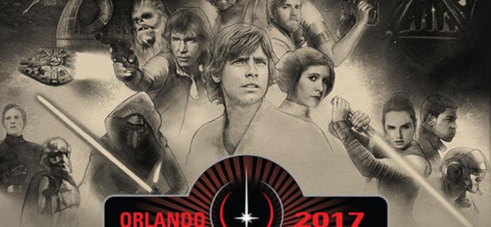 Nerd Block & Star Wars Limited Edition 2017 Star Wars Celebration Box Full Spoilers!