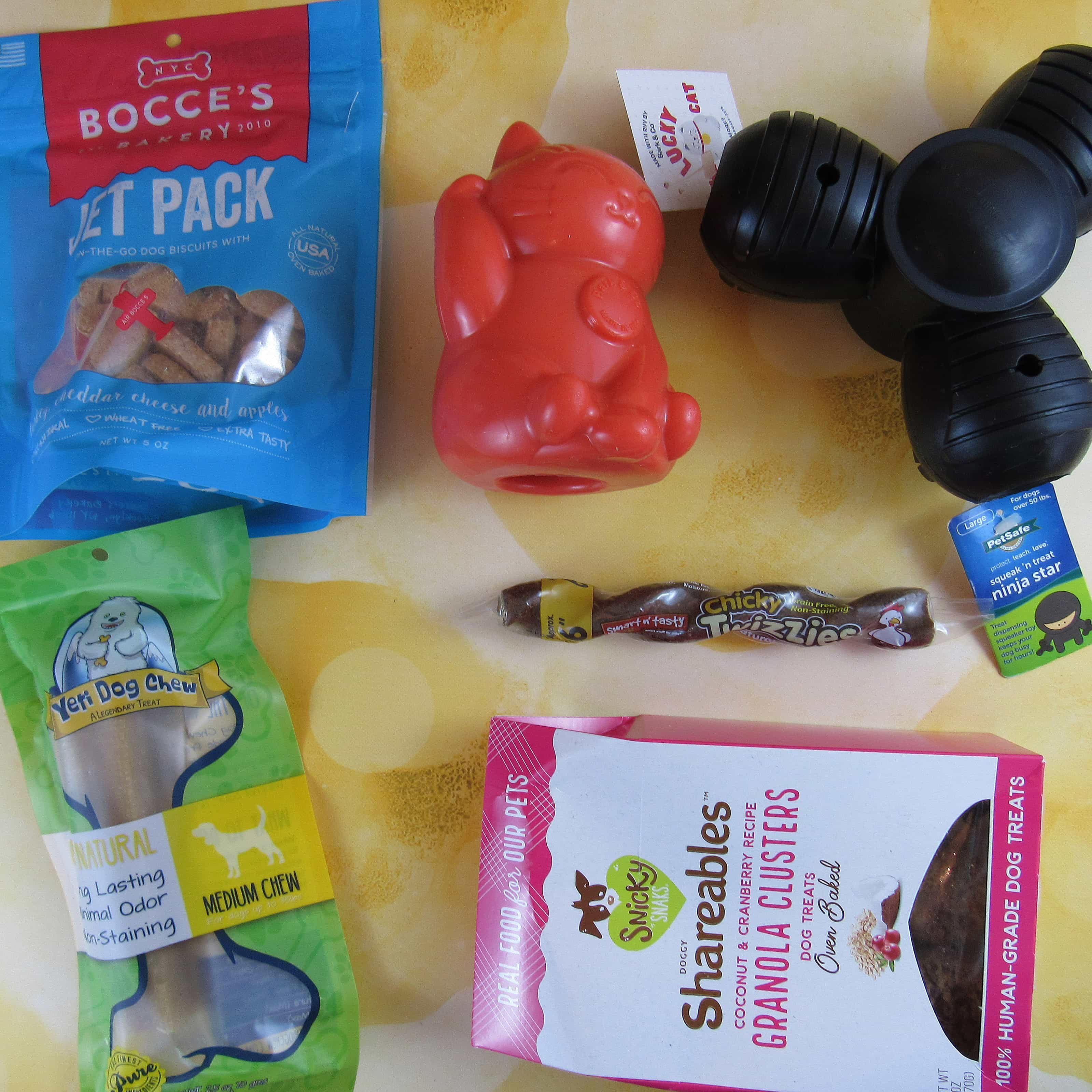 Barkbox March 2017 Subscription Box Review – Super Chewer