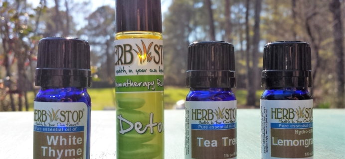 Herb Stop Aroma Box Subscription Review & Coupon – March 2017
