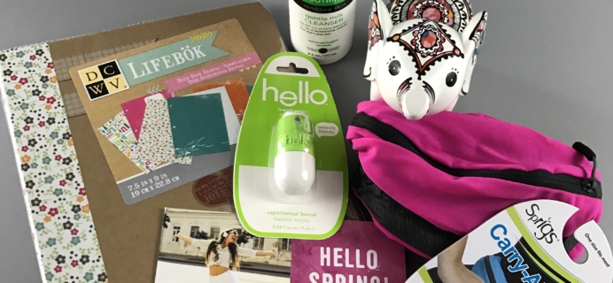 Peaches and Petals March 2017 Subscription Box Review & Coupon