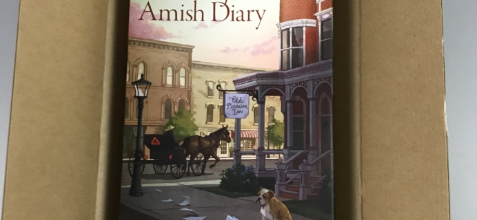 Amish Inn Mysteries April 2017 Subscription Box Review