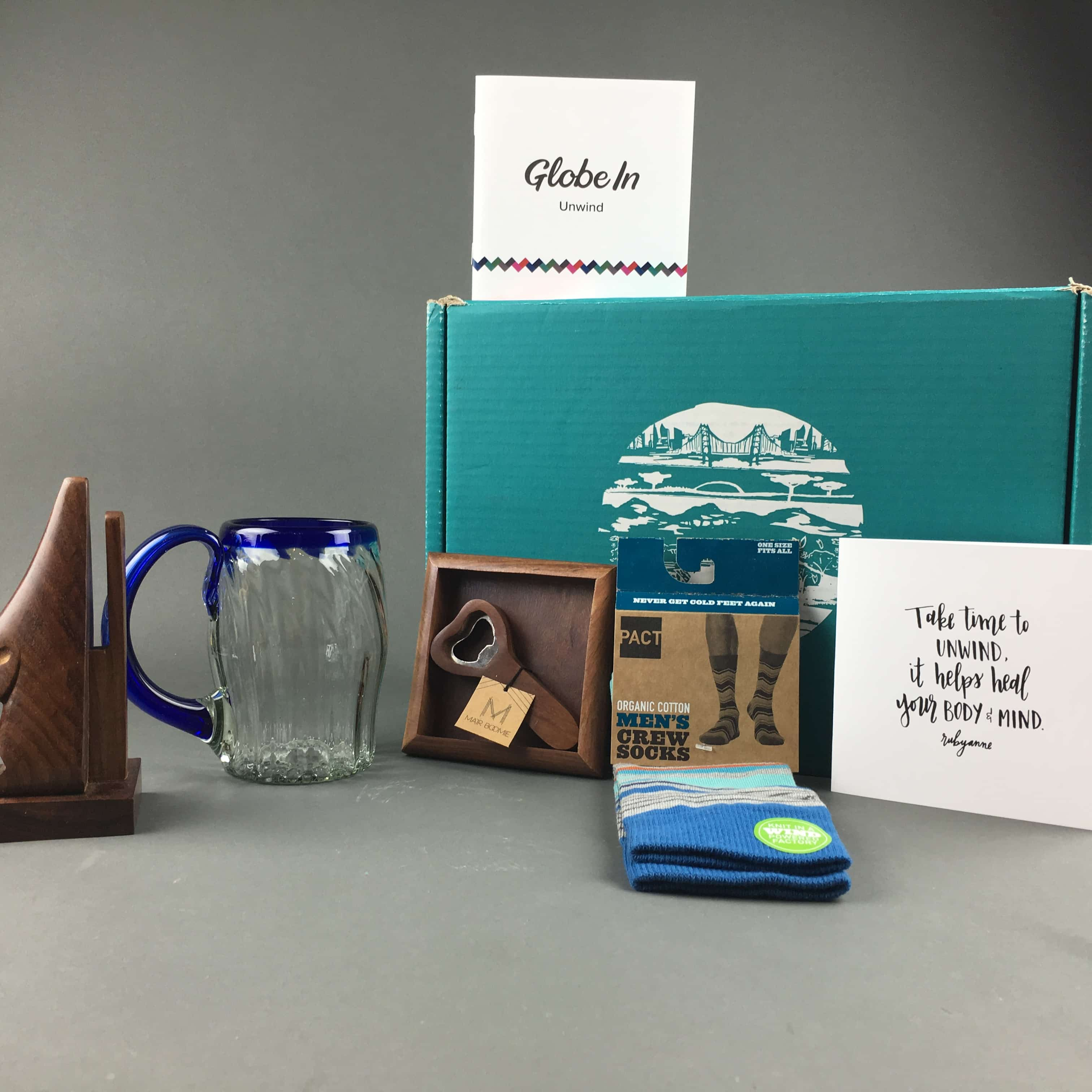 GlobeIn Artisan Box February 2017 Unwind Subscription Box Review + Coupon