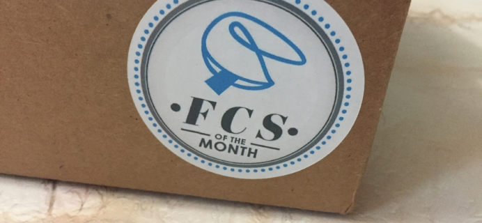 FCS of the Month April 2017 Subscription Box Review