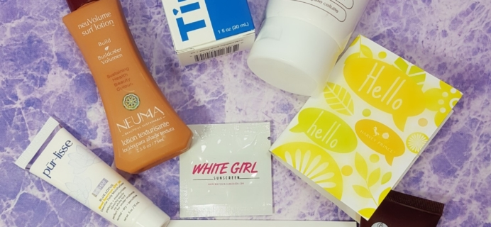 How To Be A Redhead Subscription Box Review – April 2017