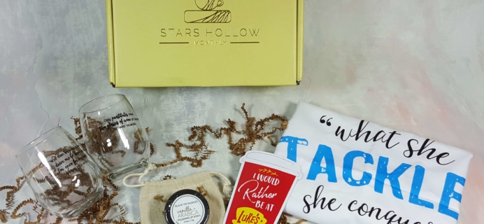 Stars Hollow Monthly Subscription Box Review – March 2017