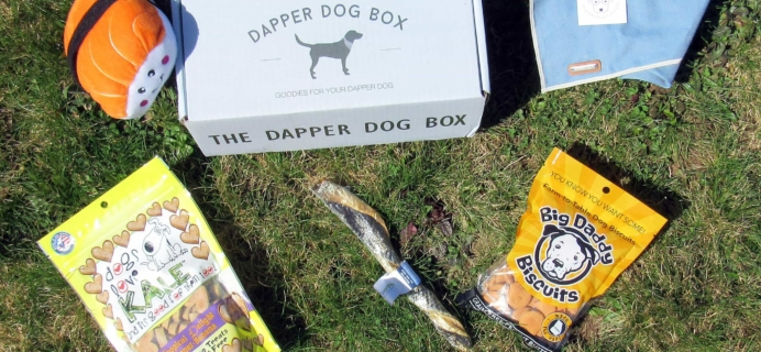 The Dapper Dog Box April 2017 Subscription Box Review + Coupon