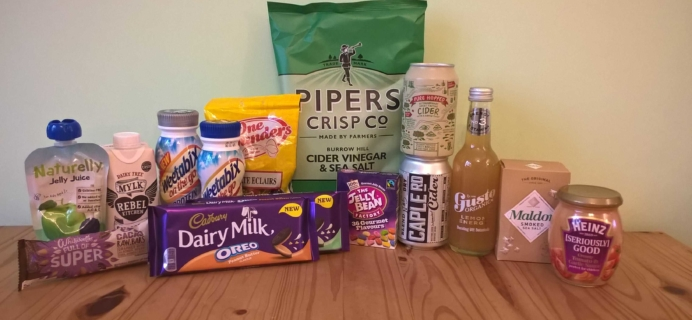DegustaBox UK March 2017 Subscription Box Review