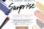 TODAY ONLY: bareMINERALS The Great Beauty Surprise Mystery Bundles! Extended!