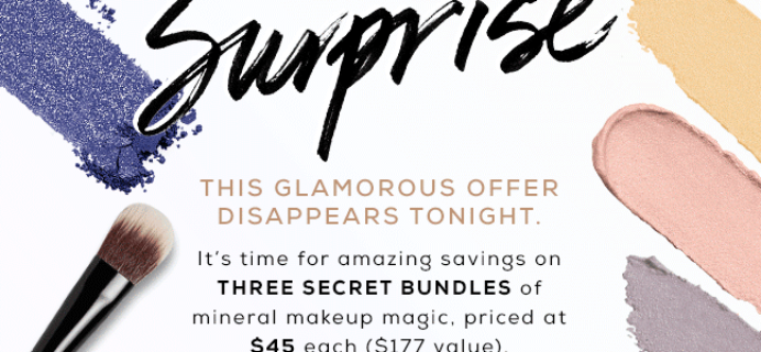 TODAY ONLY: bareMINERALS The Great Beauty Surprise Mystery Bundles!