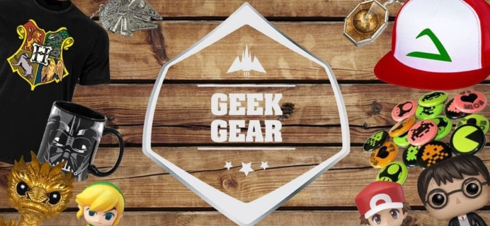 Geek Gear January 2018 Theme Spoilers + Coupon!