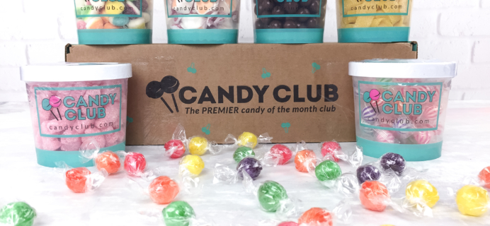 Candy Club April 2017 Subscription Box Review & Coupon – 6 Candy Box