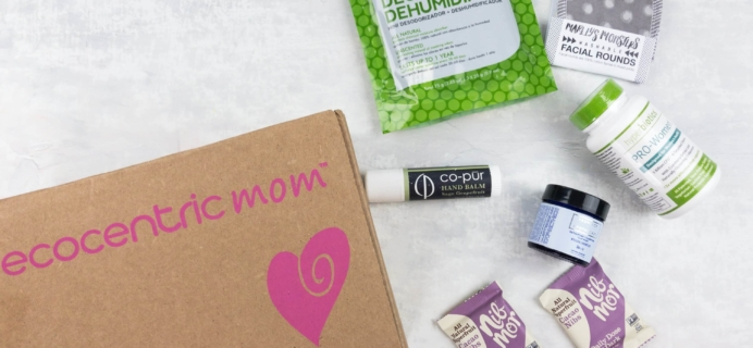 Ecocentric Mom March 2017 Subscription Box Review + Coupon – Mom Box