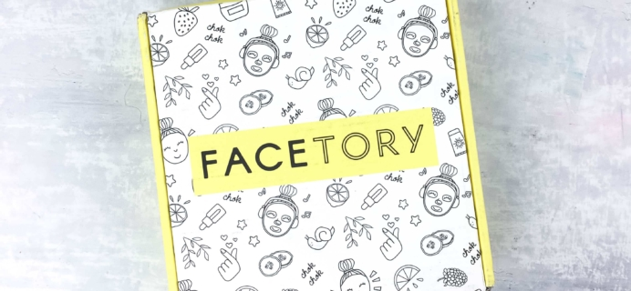 FaceTory April 2017 Subscription Box Review – SEVEN LUX