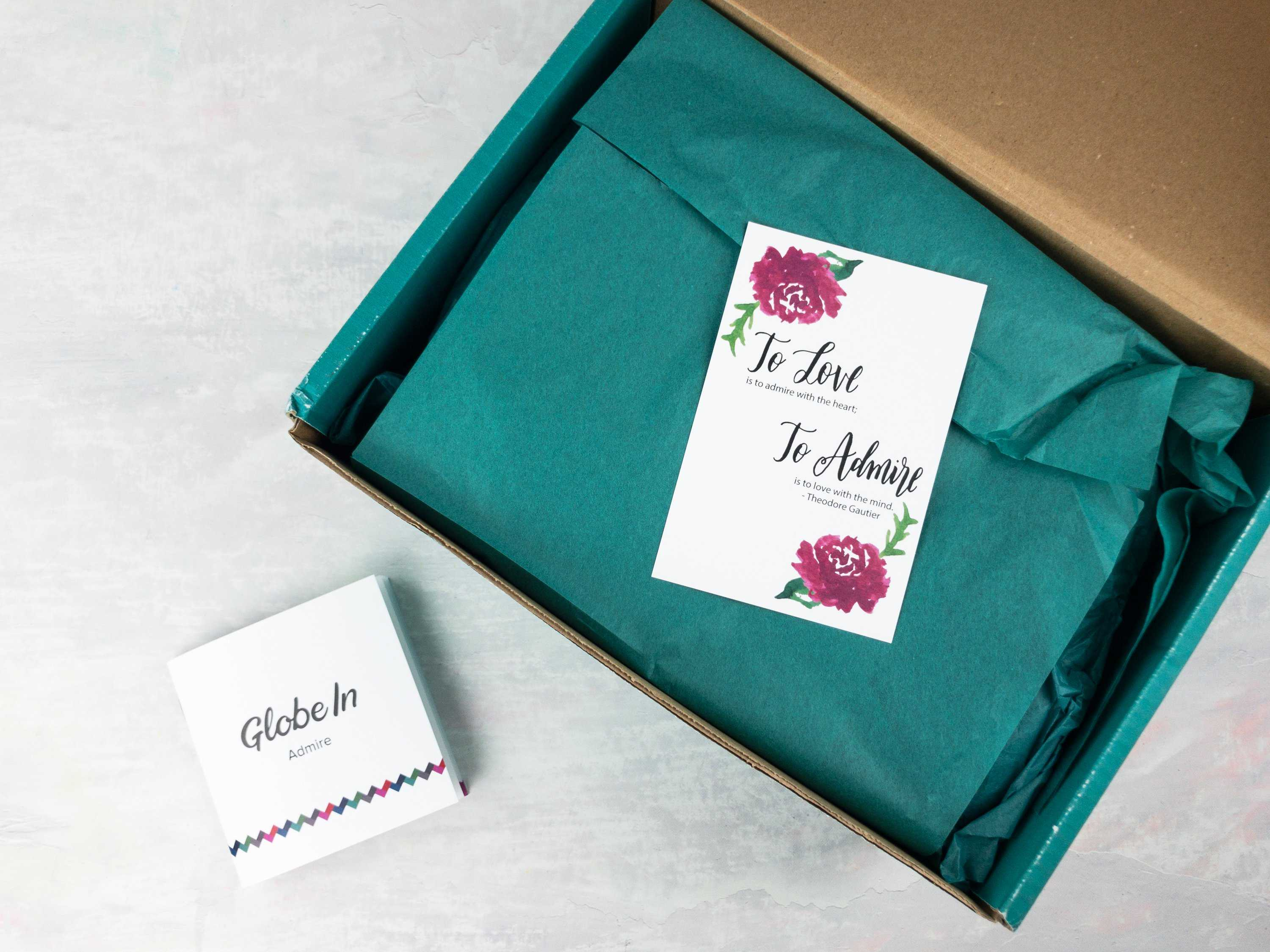 GlobeIn Limited Edition Admire Box Review + Coupon
