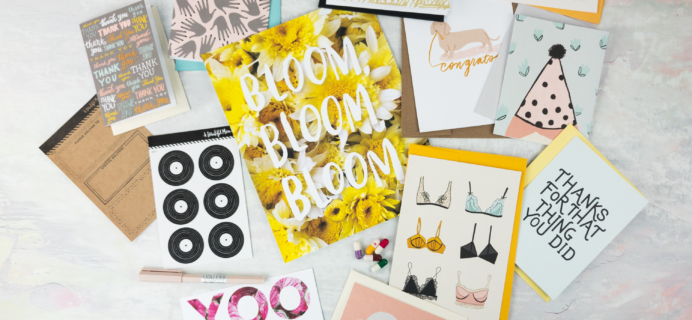 Happy Mail April 2017 Subscription Box Review