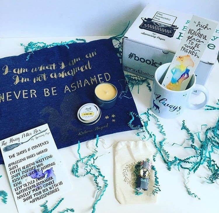 The Bookish Box: Harry Potter Limited Edition Box Now Available!