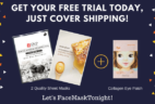 FaceMaskTonight Free Trial $3.99 Shipped!