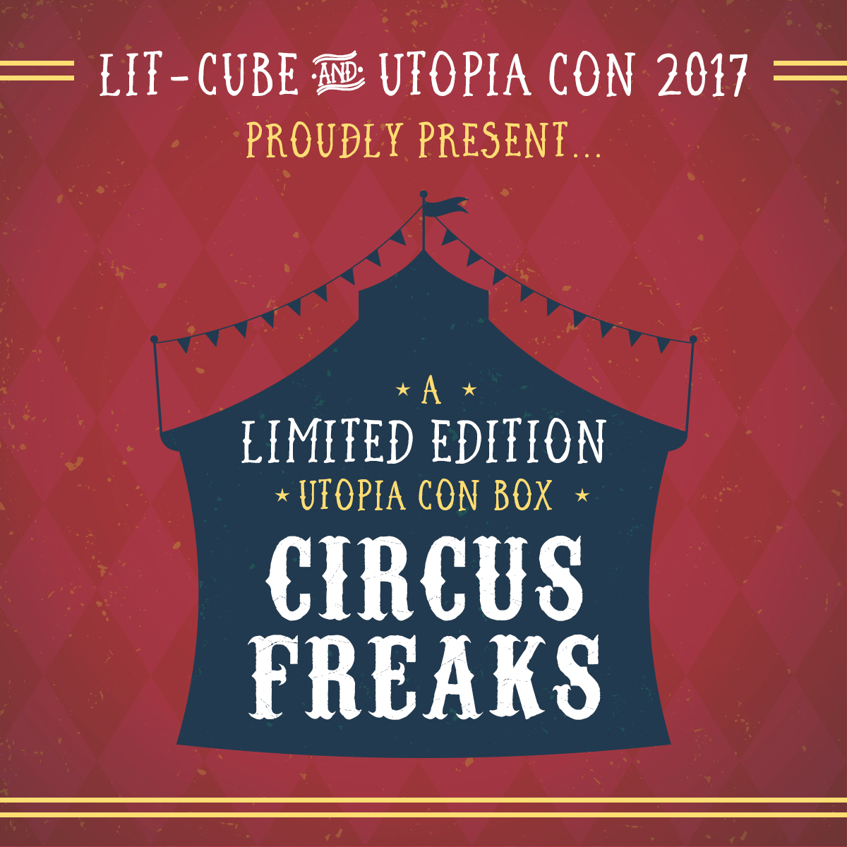 Lit-Cube Limited Edition Circus Freaks Box On Sale!