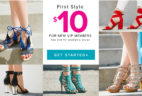 Shoedazzle Labor Day Deal: First Style Just $10!