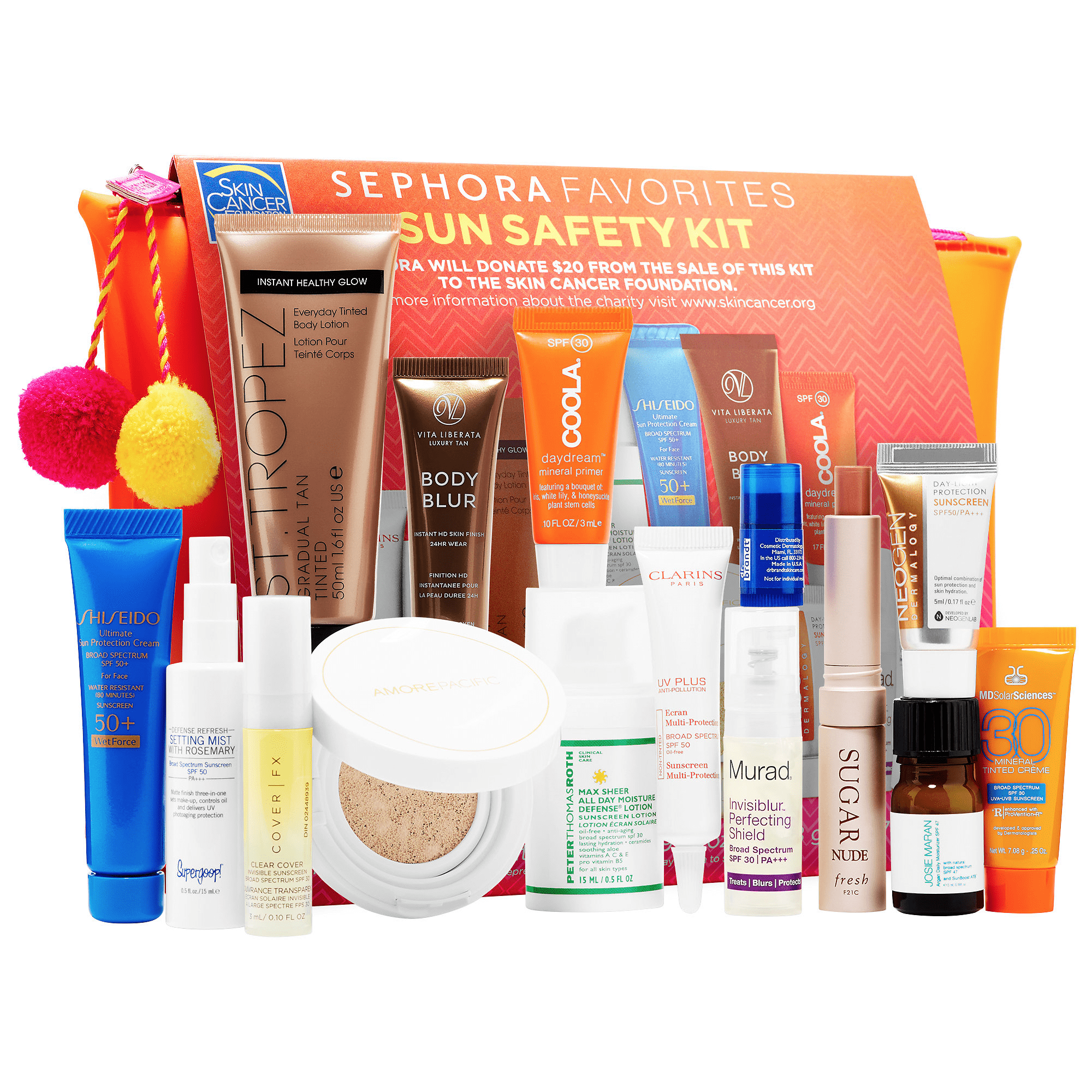 Sephora Sun Safety Kit 2017 Available On Site Now + Coupons