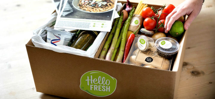 Hello Fresh Coupon: 3 Free Meals With First Box!