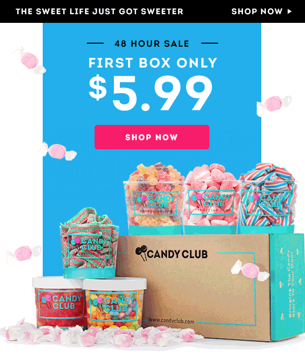 Candy Club Deal: First Box just $5.99!