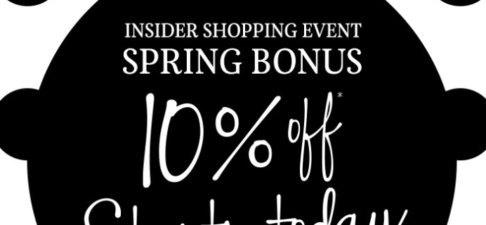 Sephora Spring Bonus Sale Starts Now: 10% Off Site for Everyone!