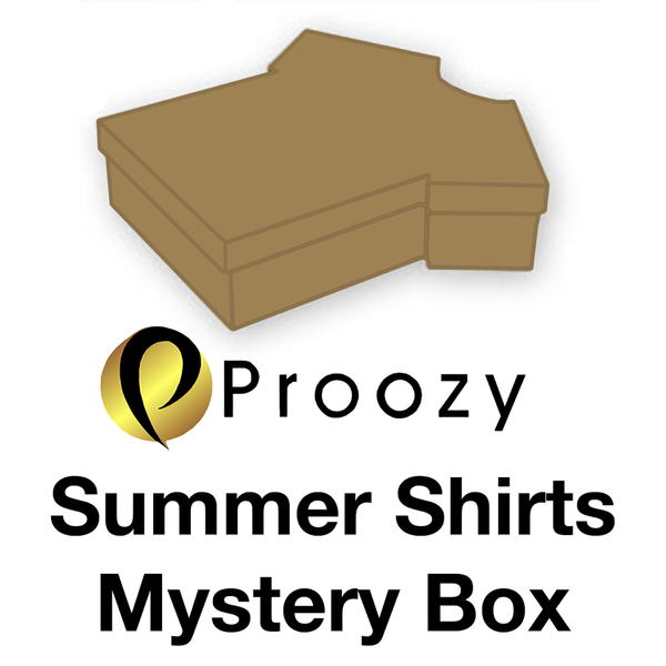 Proozy Summer Shirts Mystery Box Available Now!