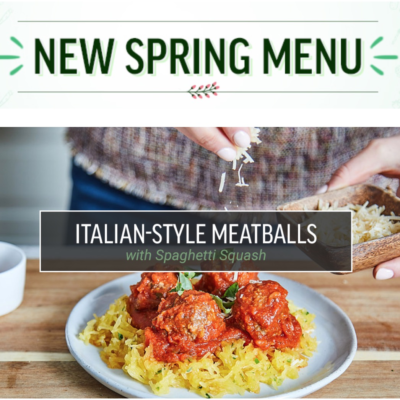 New Freshly Spring 2017 Menu + Coupon!