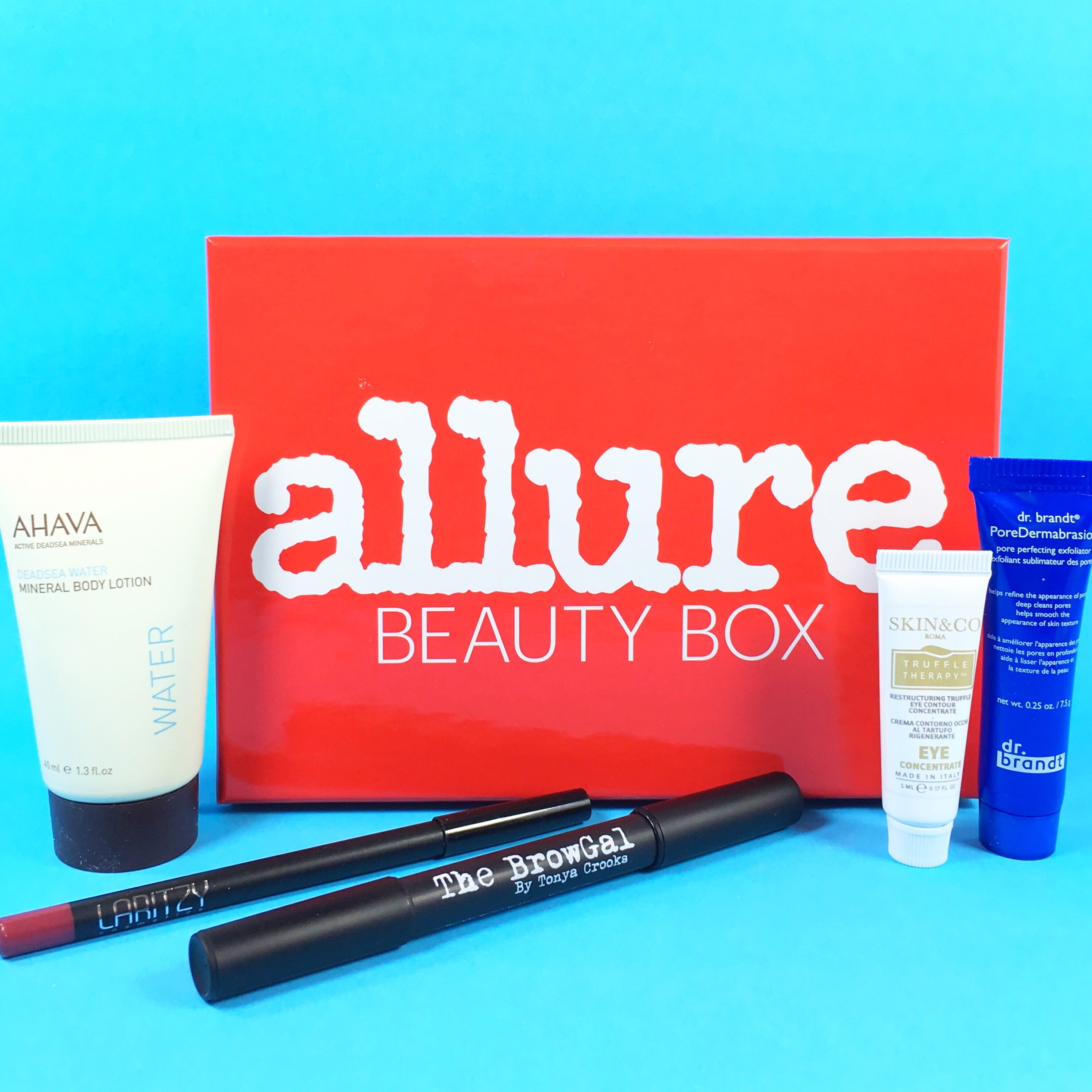 Allure Beauty Box April 2017 Subscription Box Review & Coupon