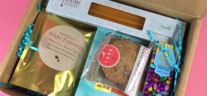 Tea Box Express April 2017 Subscription Review & Coupon