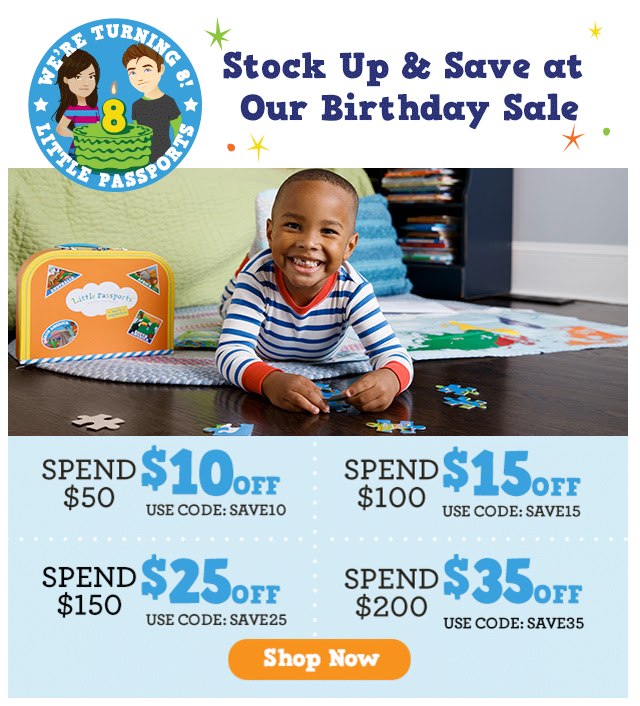 Little Passports Birthday Sale – Last Call to Save Up to $35!