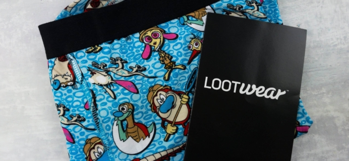 Loot Undies March 2017 Subscription Review + Coupon