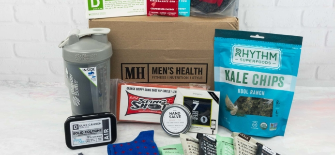 Men's Health Box April 2017 Subscription Box Review + Coupon