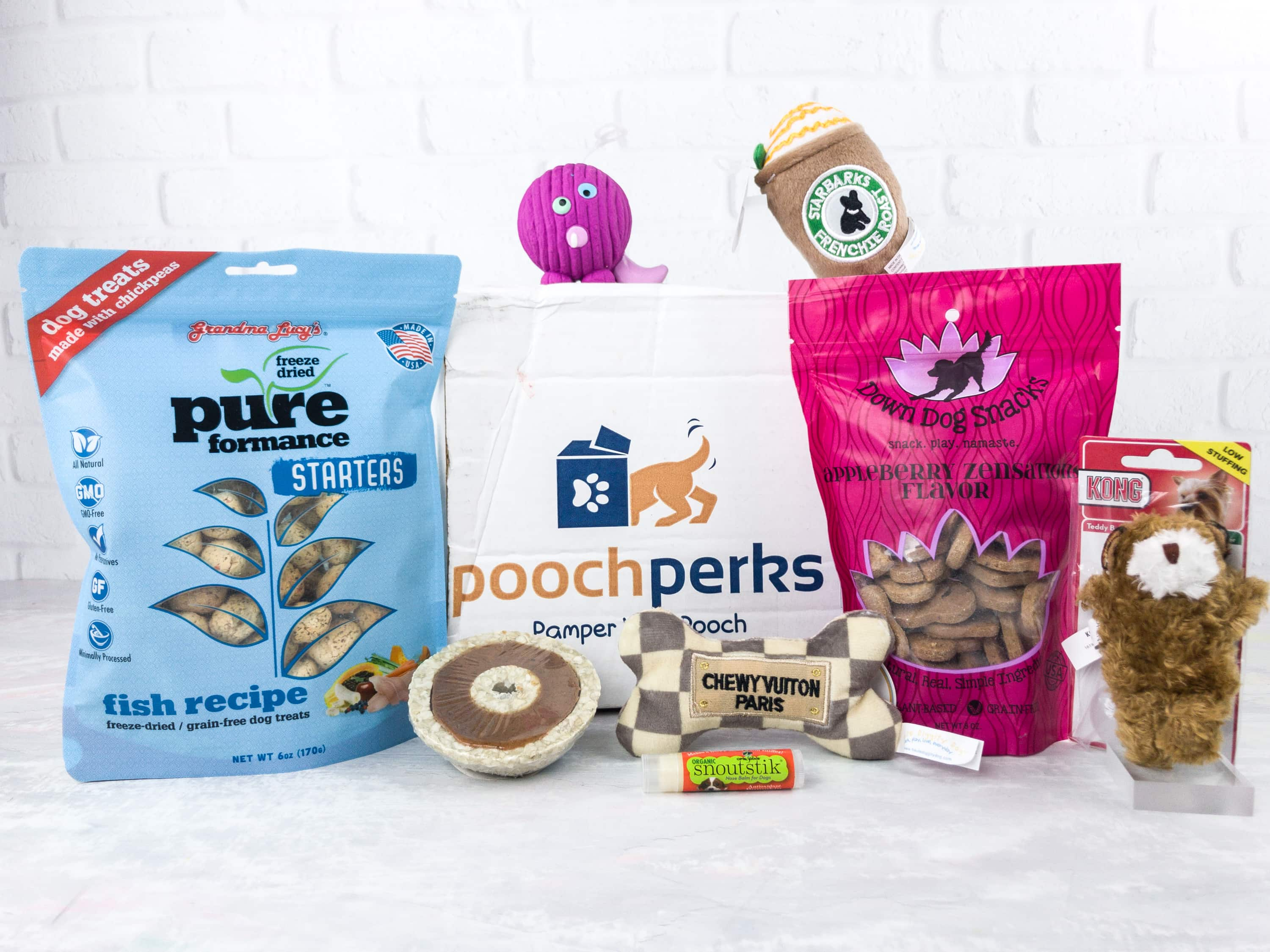 Pooch Perks April 2017 Subscription Box Review + Coupon!