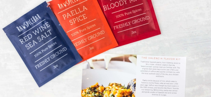 RawSpiceBar Spice Subscription Review & Coupon – February 2017