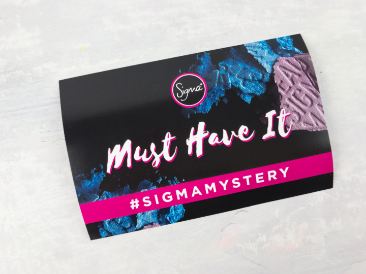Sigma Beauty Mystery Haul Spring 2017 Review Must Have