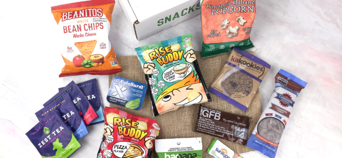 SnackSack March 2017 Subscription Box Review & Coupon