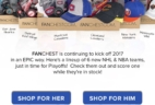 Fanchest's Adds 6 New NHL & NBA Teams to the Lineup!