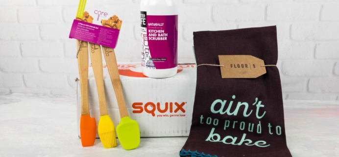 Squix FREE Trial Box Review – 3 Items $3.95 Shipped!
