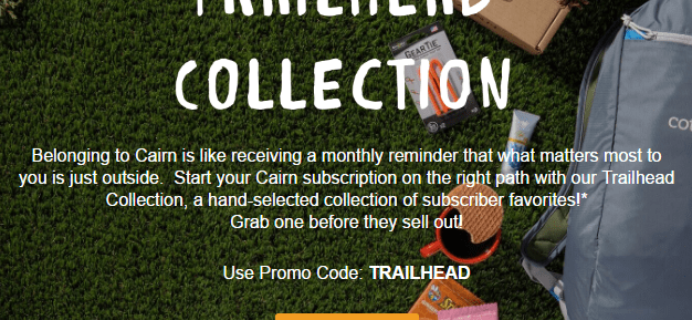 Cairn Trailhead Collection Crates Available Now!