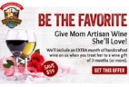 California Wine Club Mother's Day Offer!
