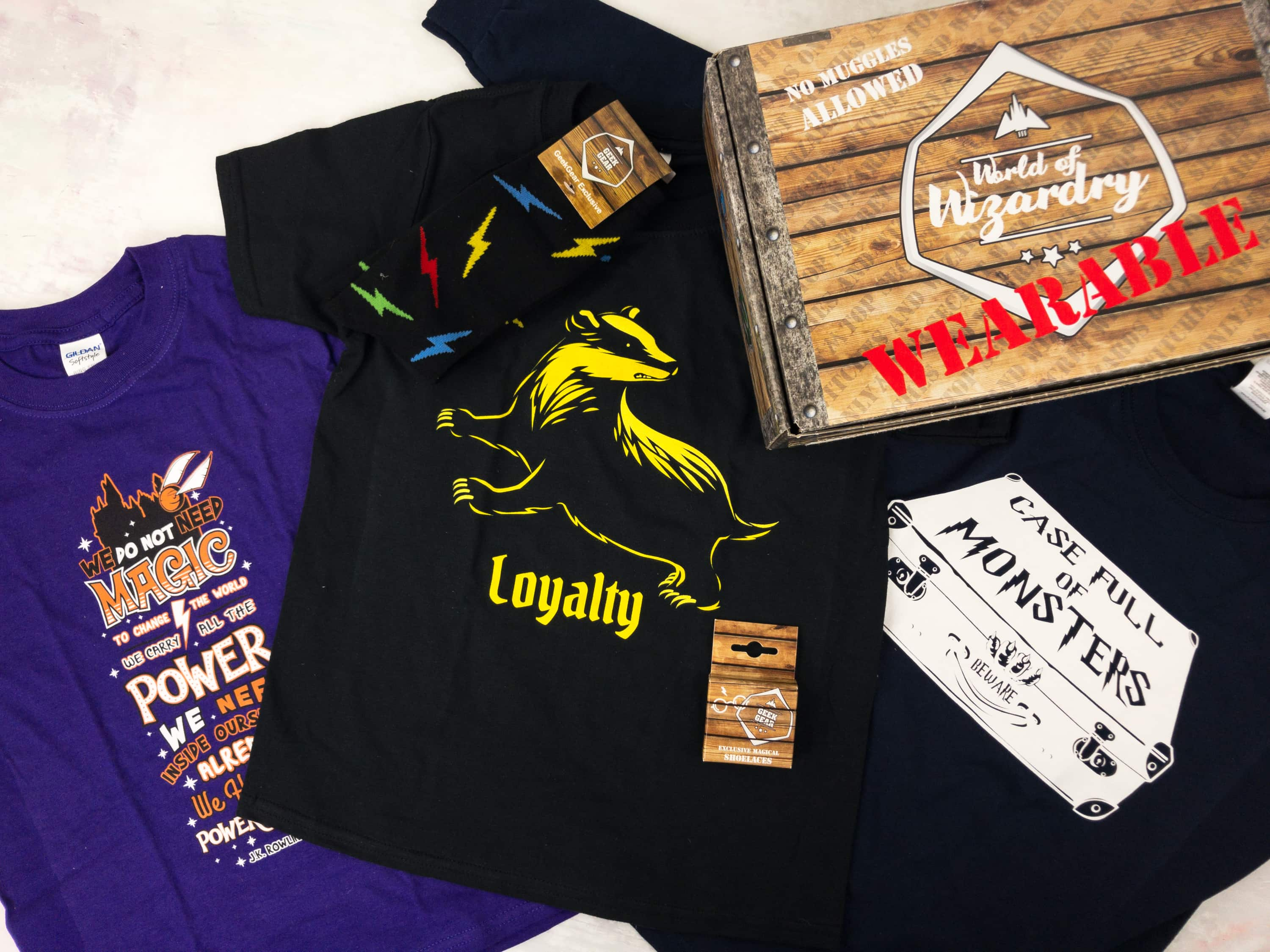 Geek Gear World of Wizardry Wearables Subscription Box Review + Coupon – March 2017