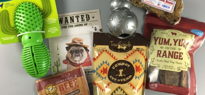 Barkbox May 2017 Subscription Box Review – Super Chewer