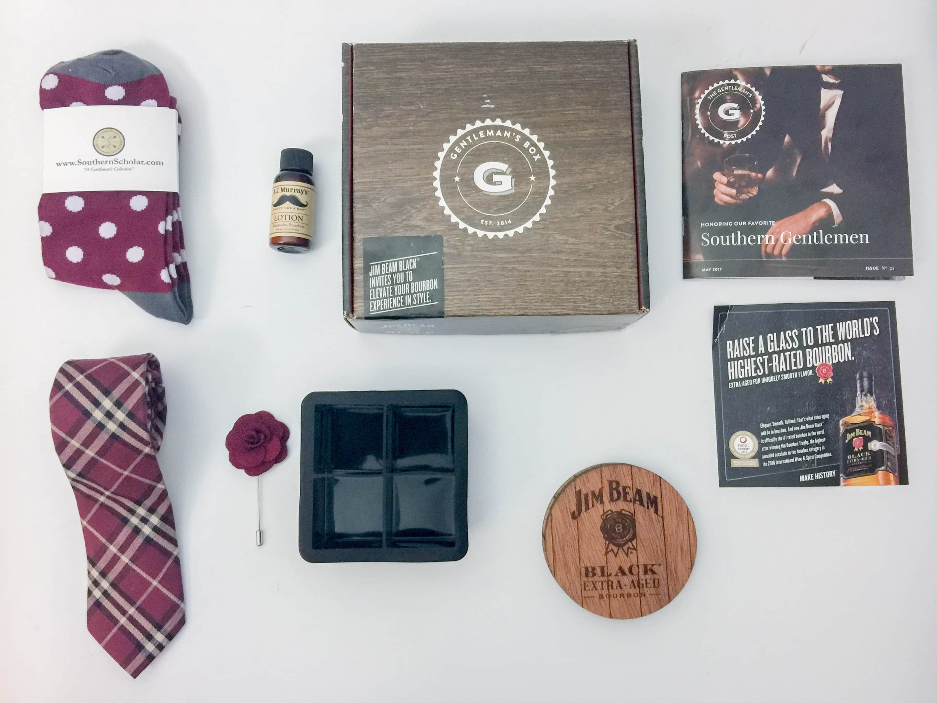 The Gentleman's Box Review & Coupon – May 2017
